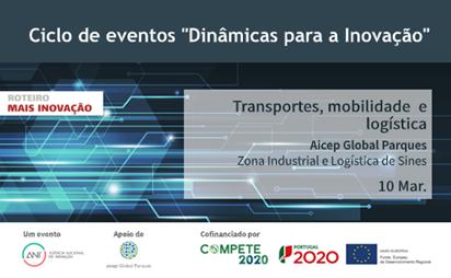 Dinâmicas para a Inovação – Transportes, mobilidade e logística